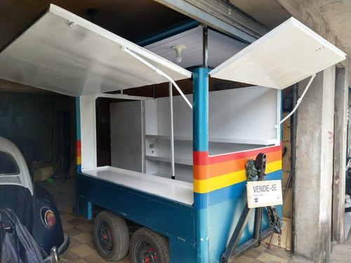 Trailer Food Truck Com Teto Que Levanta - Ano 2020