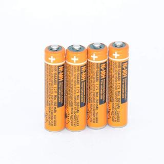 4 Baterias Recargables 550mah Ni-mh Aaa Para Kx-tg1032
