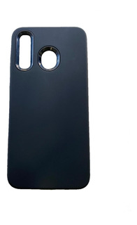 Funda Samsung A20 A30 M20 M30 Carbono Anti Golpes + Vidrio