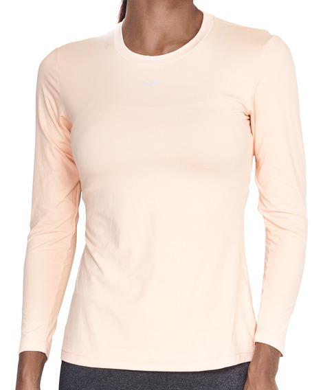 Camisa Feminina Bm9 Laranja Modelagem Leve Justa Esportiva
