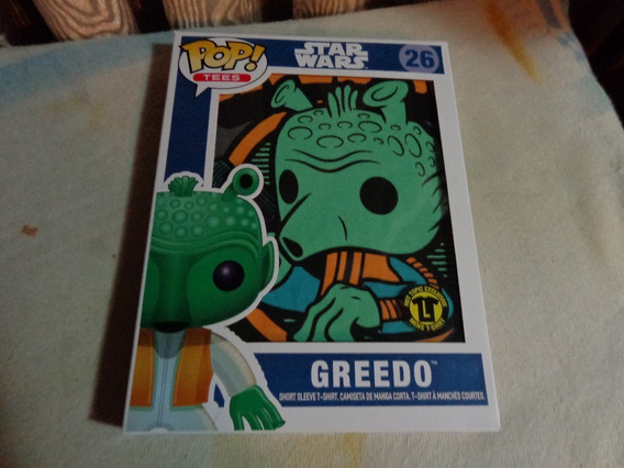 Funko Pop Tees Greedo Star Wars
