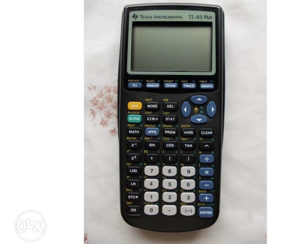Calculadora Cientifica Ti-83 Plus Texas Instruments