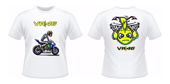 Camisa Valentin Rossi Peixinho Moto Gp Racing