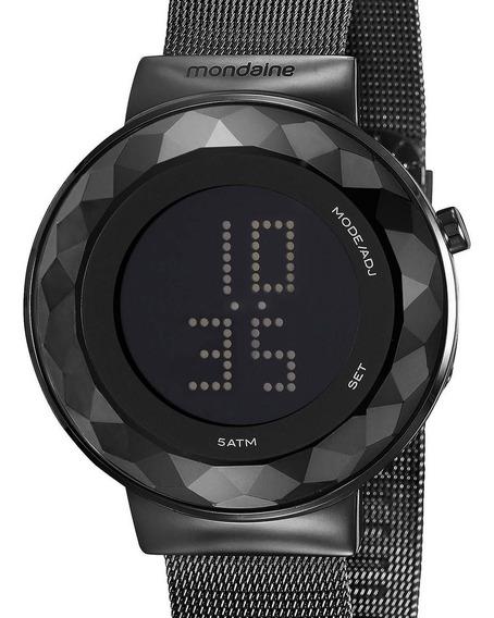 Relógio Mondaine Feminino 32006lpmvpe3 Preto C/ Nfe
