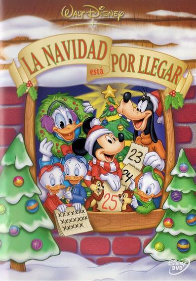La Navidad Esta Por Llegar Mickey Mouse Disney Pelicula Dvd