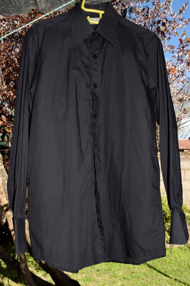 Camisa De Vestir Christian Dior Hombre Talle M Premiun