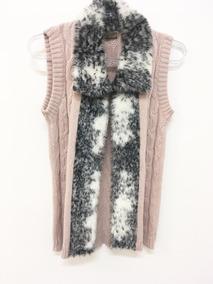 Colete Feminino Inverno De Pelo Tricô Tricot Frio Atacado