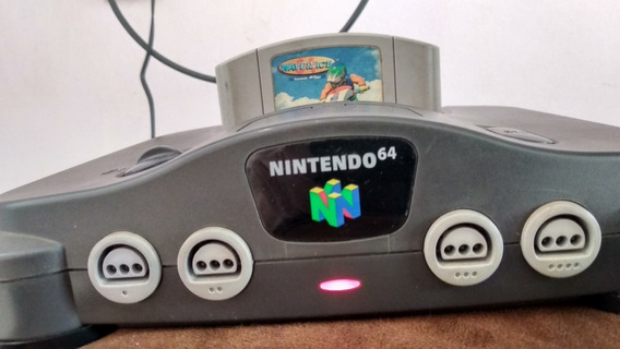 Nintendo 64 Completo Com 2 Controles E 1 Jogo