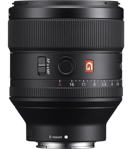 Lente Sony Fe 85mm F/1.4 Gm / Sel8514gm 85mm 1.4 G Master