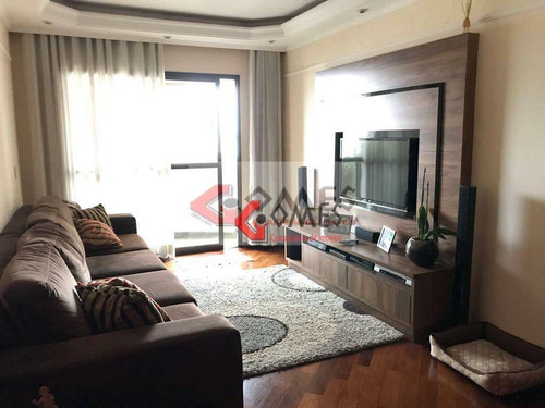 Apartamento Com 3 Dormitórios À Venda, 106 M² Por R$ 550.000,00 - Chácara Inglesa - São Bernardo Do Campo/sp - Ap2558