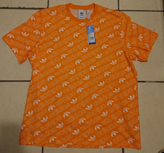 Playera adidas Naranja