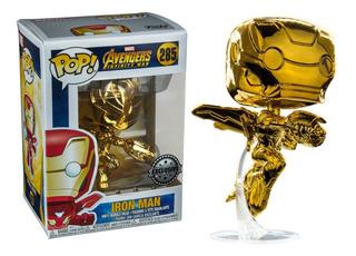 Funko Pop! Iron Man #285 Exclusivo Popcultcha Avengers