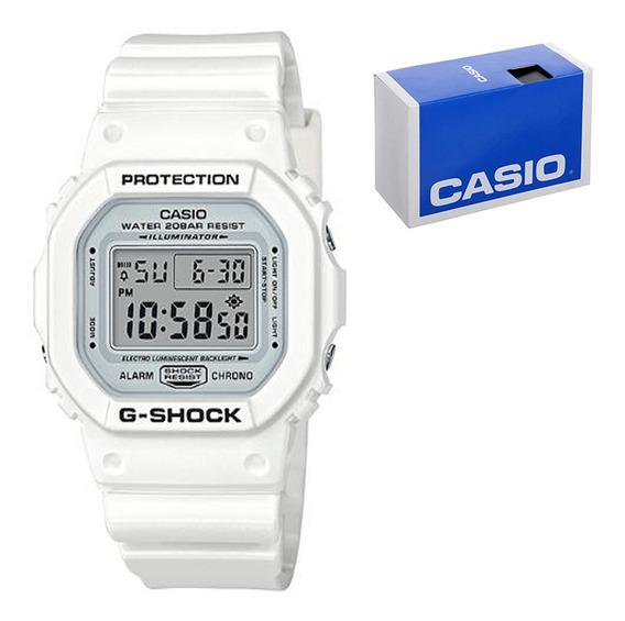 Reloj Casio Dw-5600mw-7 Blanco, Alarma Multifunción E-watch