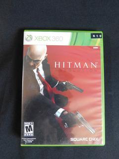 Juego Hitman Absolution Xbox 360 Envío A Todo Chile