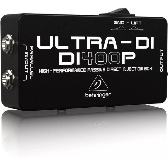 Direct Box Passivo Behringer Ultra Di 400p Profissional