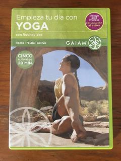 Empieza Tu Dia Con Yoga Con Rodney Yee /gaiam Dvd