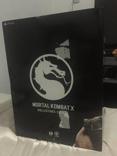 Mortal Kombat X Kollectors Edition Ps4 Pronta Entrega