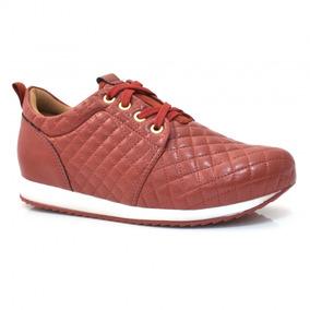 Tênis Casual Feminino Manuelly - 123113 - Vizzent Calçados