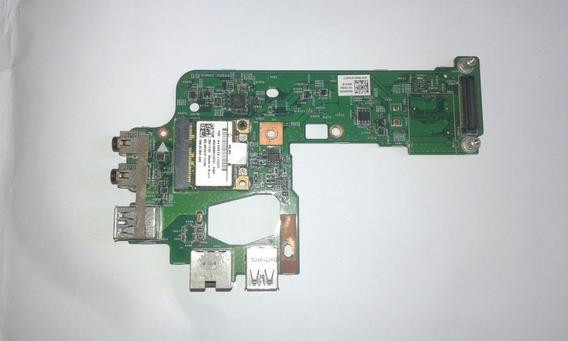 Placa Filha Usb Audio Rj45 Dell Vostro 3550 48.4ie15.031