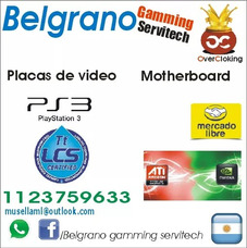 Belgrano Servitech Placas De Video Mother Aio Reballing