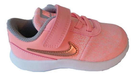 Tenis Nike Niña Y Bebé Originales Rosas Flex Envío Inmediato