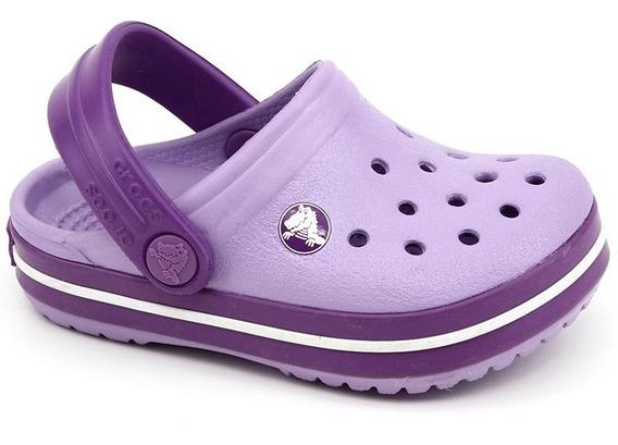 Crocs Infantil Crocband Kids Lilas Loja Pixolé