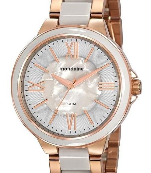 Relógio Mondaine Feminino Rose Gold 76734lpmvre2