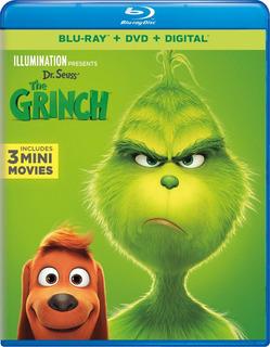 Blu-ray + Dvd The Grinch / El Grinch (2018)