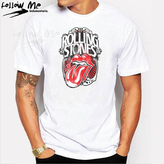 Remera Rolling Stones Niña Ropa y Accesorios en Mercado