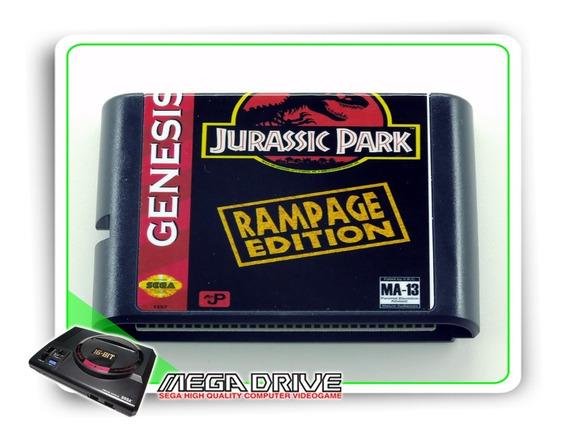 Jurassic Park 2 Rampage Edition Sega Mega Drive - Novo