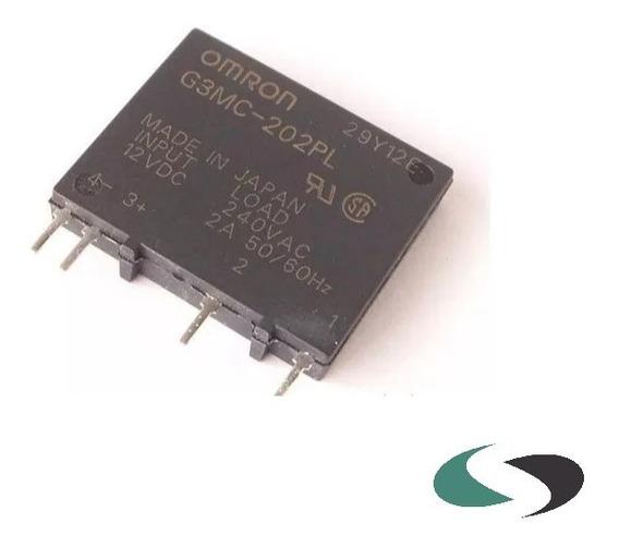 G3mc-202pl Dc24 Mini Rele Estado Solido 2a 24vdc Omron