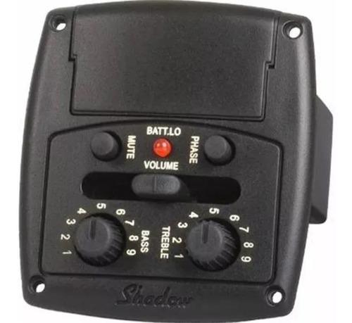 Micrófono Ecualizador Guitarra Shadow Sh-eco Nfx Universal