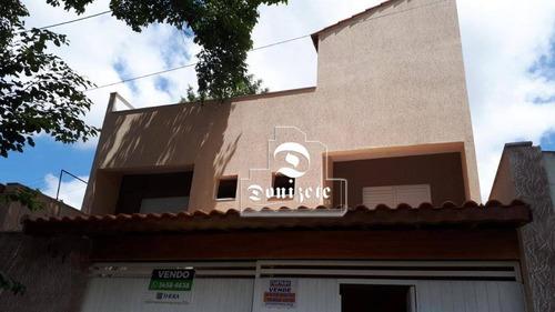 Sobrado Com 2 Dormitórios À Venda, 151 M² Por R$ 800.000,00 - Vila Alpina - Santo André/sp - So2963