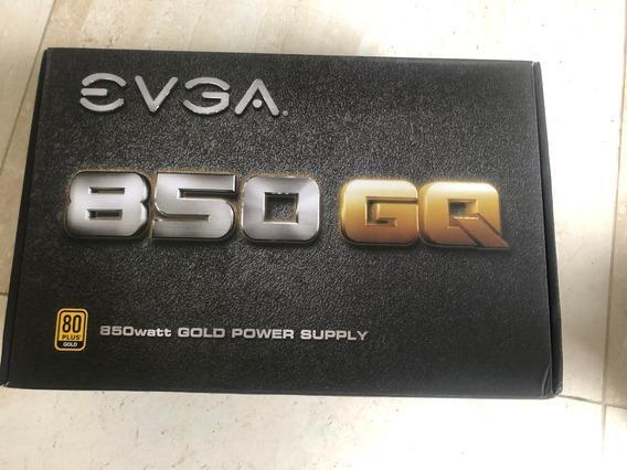 Fonte Evga 850 Gq 80 Plus Gold Pfc Ativo 85 210-gq-0850-v1