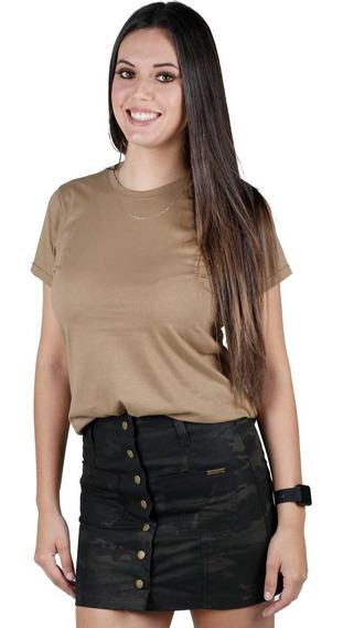 Camiseta Feminina Soldier Coyote - Bélica