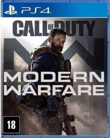 Call Of Duty Modern Warfare Ps4 Mídia Física Oferta Do Dia