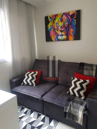Apartamento À Venda, 42 M² Por R$ 300.000,00 - Belém - São Paulo/sp - Ap2911