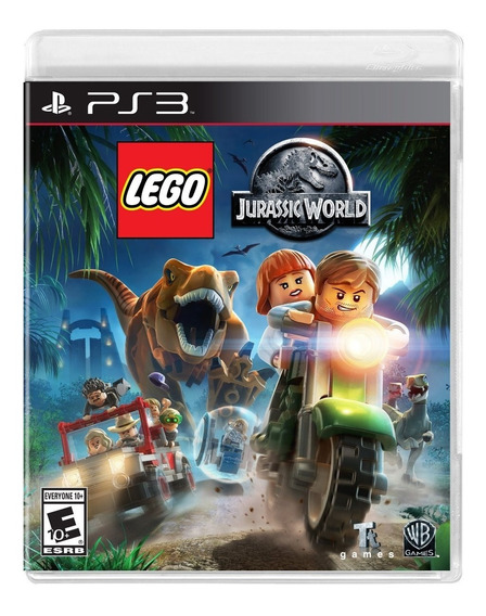 Lego Jurassic World Ps3 Mídia Digital Psn Dublado Play 3