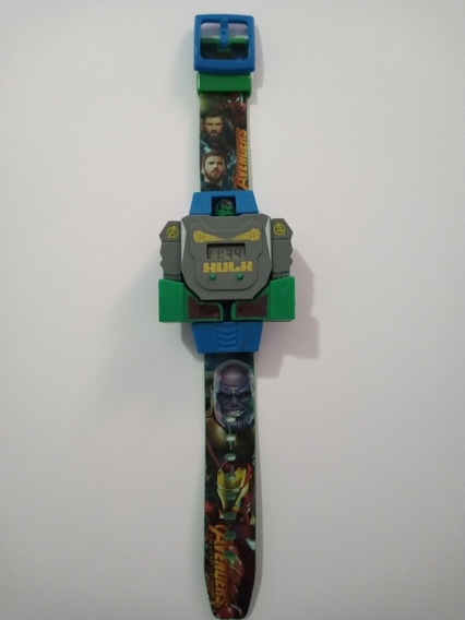 Relógio Infantil Super Hero