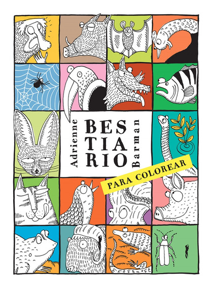 Bestiario Para Colorear | Adrienne Barman