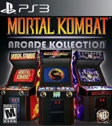 Mortal Kombat Arcade Kollection - Psn Ps3 Play 3