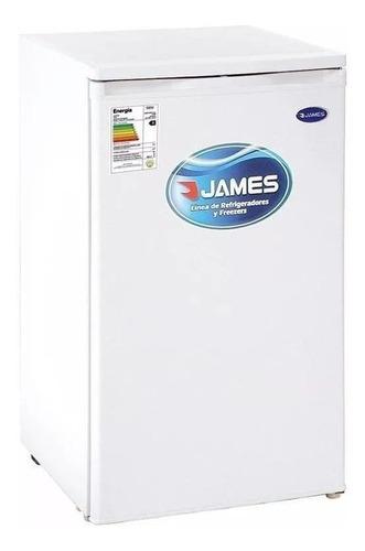 Imagen 1 de 1 de Heladera minibar James J-144K blanca 96L 220V - 240V
