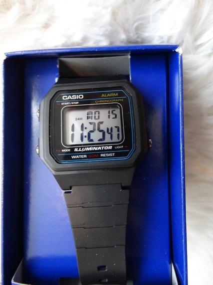 Relógio Casio Masculino Digital W217h-1avtc Importado Usa