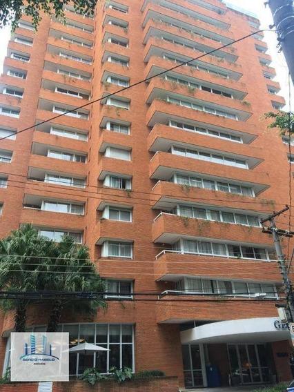 Flat Com 2 Dormitórios À Venda, 120 M² Por R$ 950.000 - Jardim Paulista - São Paulo/sp - Fl0035