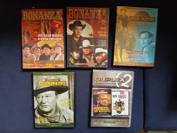 Lote Com 5 Dvds Originais De Faroeste - 6 Filmes !!
