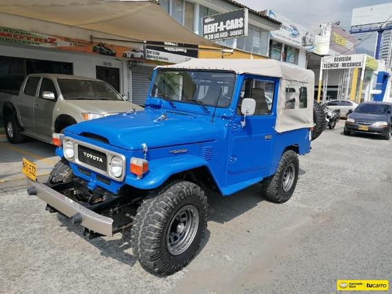 Toyota Land Cruiser 2f Largo Carpado