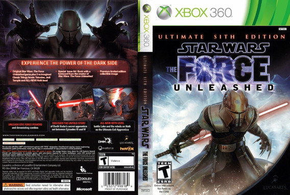 Patch Star Wars The Force Unleashed Ultimate ( Lt Ou Rgh )