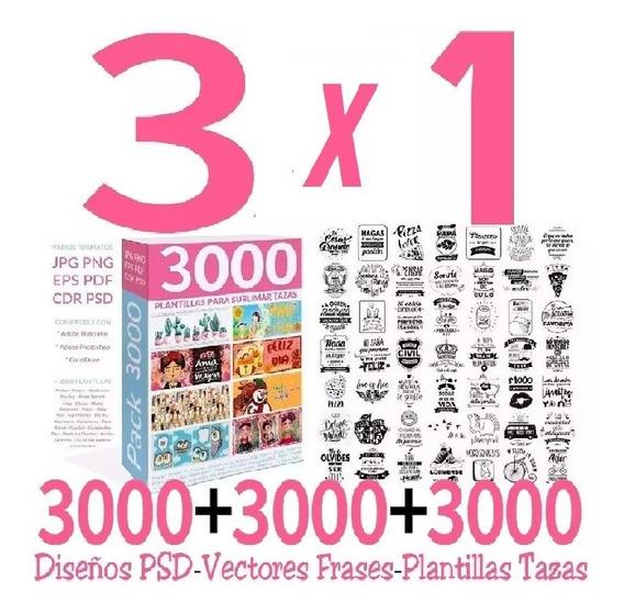 9000 Vetores De Frases + Modelos + Formato Psd