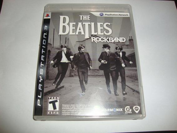 Rock Band Beatles Americano Completo Para Ps3