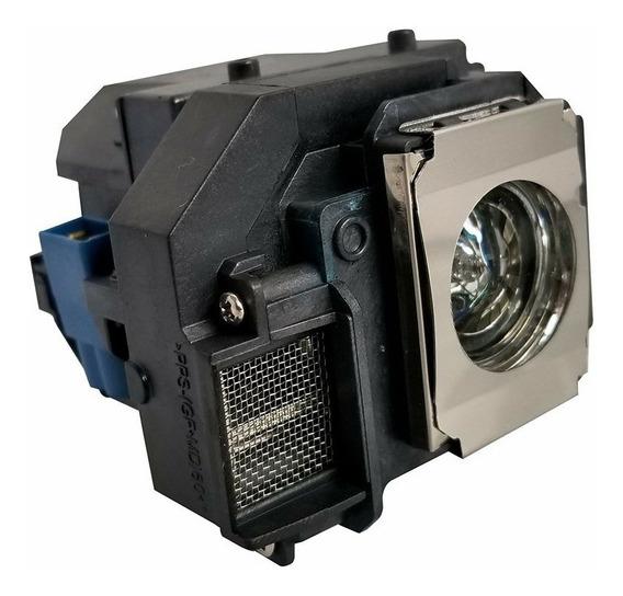 Lâmpada Atom Para Projetor Epson Elplp58 S9 S10 S10+ Abh